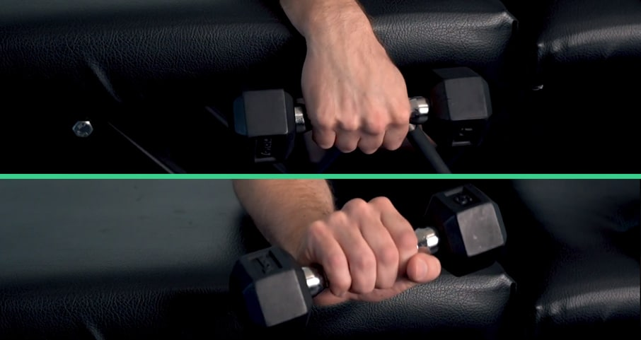 weighted wrist extension