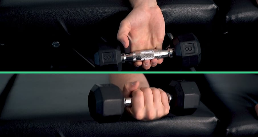 Weighted wrist curl