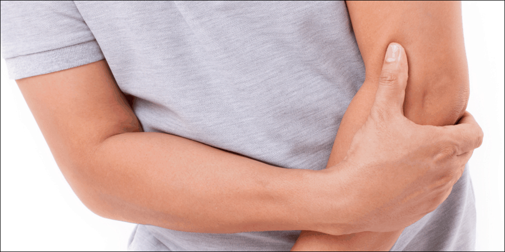 outer elbow pain