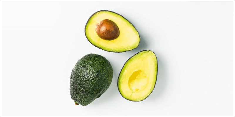 Healthy gamer snacks: avocado
